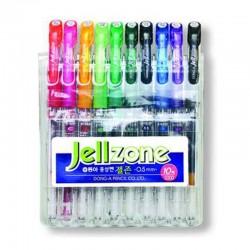 """Zestaw długopisów żelowych Dong-A """"Jell Zone"""" 10"""