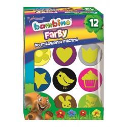 Bambino farby do malowania palcami 12