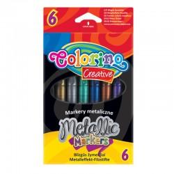 "Patio ""Colorino"" markery metalizowane 6"