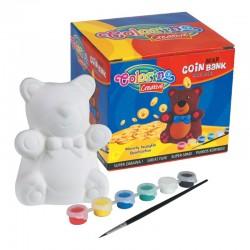 "Patio ""Colorino"" skarbonka do pokolorowania Niedźwiadek"