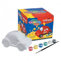 "Patio ""Colorino"" skarbonka do pokolorowania Samochód"