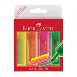 """Faber Castell """"Textliner 1546"""" zestaw zakreślaczy 4"""