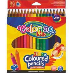 """Patio """"Colorino"""" kredki trójkątne Jumbo 18"""