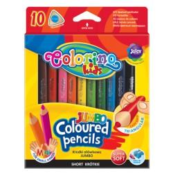 """Patio """"Colorino"""" kredki trójkątne Jumbo mini 10"""