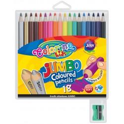 """Patio """"Colorino"""" kredki okrągłe Jumbo 18"""