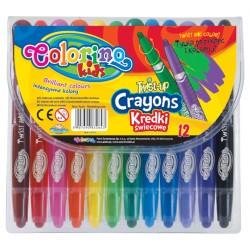 """Patio """"Colorino"""" kredki świecowe wykręcane 12 Twist Up"""