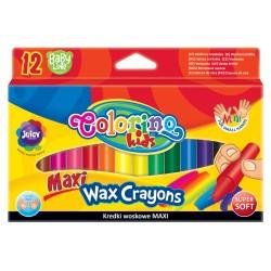 """Patio """"Colorino"""" kredki świecowe Maxi 12"""