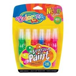 Patio Colorino farby w tubach z pędzelkami