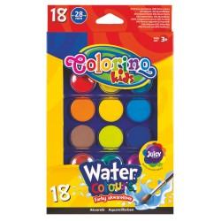 Colorino farby akwarelowe 18