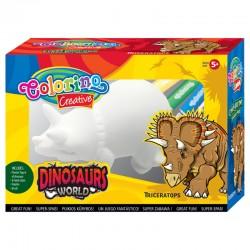"Colorino figurka do kolorowania ""Triceratops"""