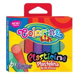 "Patio ""Colorino"" plastelina 6 Gliiter"
