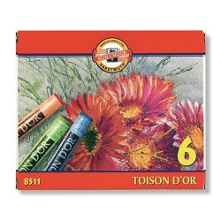 "Koh-I-Noor ""Toison D`or"" pastele suche 6"