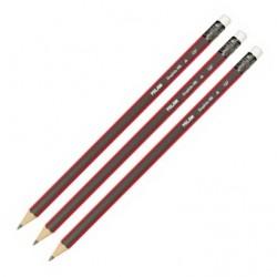 Milan ołówek trójkątny z gumką
