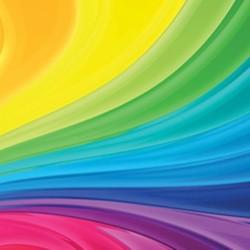 Bibuła gładka rolka mix kolorów
