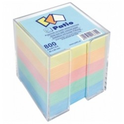 Patio notes kostka kolorowy w pojemniku