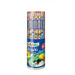 """St.Majewski """"Bambino"""" ołówek z gumką"""