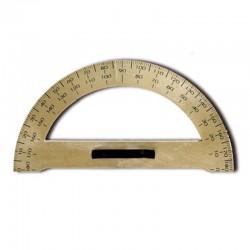 Kątomierz do tablic szkolnych z uchwytem 33 cm