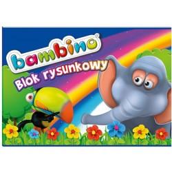 "St.Majewski ""Bambino"" blok rysunkowy A-4/20k"