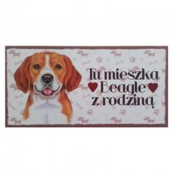 "Tabliczka z Twoim Pupilem ""Beagle"""