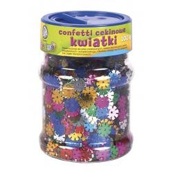 "Confetti cekinowe Astra Creativo ""Kwiatki"" 100 g"