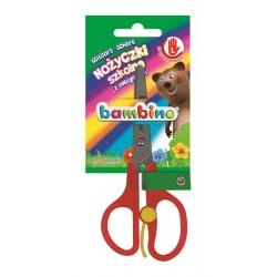 Bambino nożyczki szkolne z zabezpieczeniem dla leworęcznych