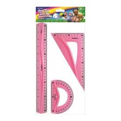 """Bambino zestaw geometryczny """"Flexi"""" 30 cm"""