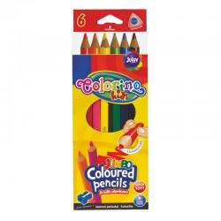 """Patio """"Colorino"""" kredki trójkątne Jumbo 6"""