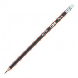 """Maped """"Black"""" ołówek trójkątny z gumką"""