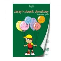 Gatis zeszyt słownik obrazkowy polsko-niemiecki A-5/32k