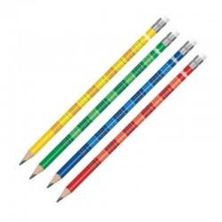 """Colorino Ołówek z gumką """"Tabliczka mnożenia"""""""