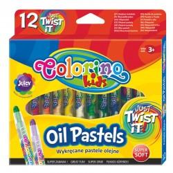 Colorino pastele olejne wykręcane 12 PTR-64590