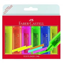 """Faber Castell """"Textliner 1546"""" zestaw zakreślaczy 6"""