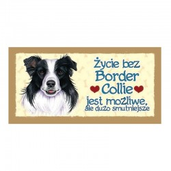 "Magnes z Twoim Pupilem ""Border Collie"""