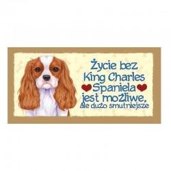 "Magnes z Twoim Pupilem ""King Charles Spaniel"""