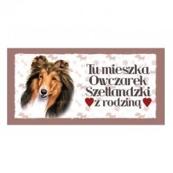 """Magnes z Twoim Pupilem """"Owczarek Szetlandzki"""""""