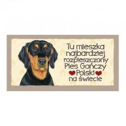 """Magnes z Twoim Pupilem """"Pies Gończy Polski"""""""