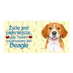 """Kubek z Twoim Pupilem """"Beagle"""""""