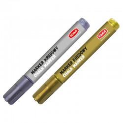 Toma TO-292 marker kredowy srebrny-złoty