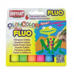 "Instant ""Play Color One Fluo"" farby w sztyfcie 6"