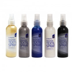 "Farby do tkanin w sprayu ""Fashion Textil Spray"" La Pajarita"
