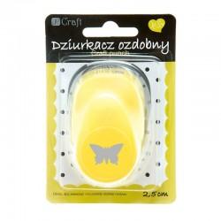 """Dziurkacz ozdobny """"Motyl"""" 2,5 cm DP Craft JCDZ-110-038"""