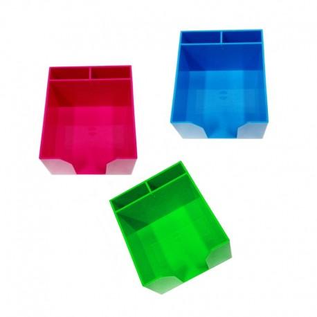 Plastikowy przybornik biurowy Tres Versi-Color