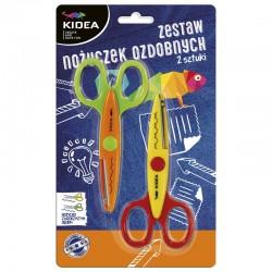 Zestaw nożyczek kreatywnych Kidea