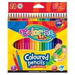 Colorino kredki ołowkowe 24