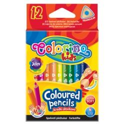 Colorino kredki trójkątne mini 12