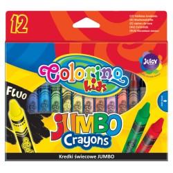 Colorino kredki świecowe Jumbo 12