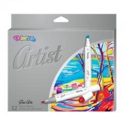 "Colorino ""Artist"" markery do szkicowania 12 PTR-92470"