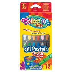 Colorino pastele olejne okrągłe 12 PTR-14052
