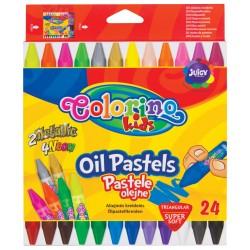 """Patio """"Colorino"""" pastele olejne trójkątne 24"""