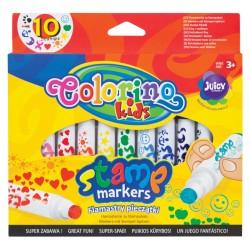 Colorino flamastry pieczątki 10 PTR-34623